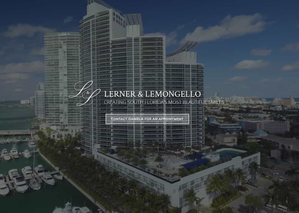 Lerner & Lemongello Website Screenshot