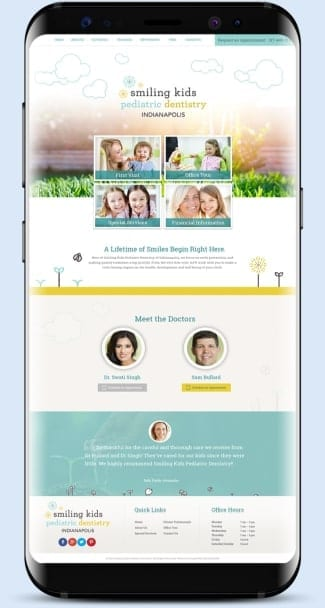 Smiling Kids Pediatric Dentistry Mobile