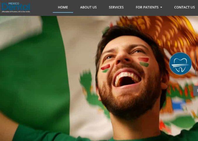 Mexico Dental Website Screenshot