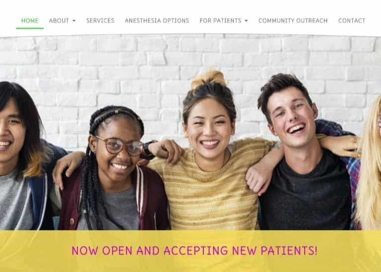 Tots N' Teens Website Screenshot