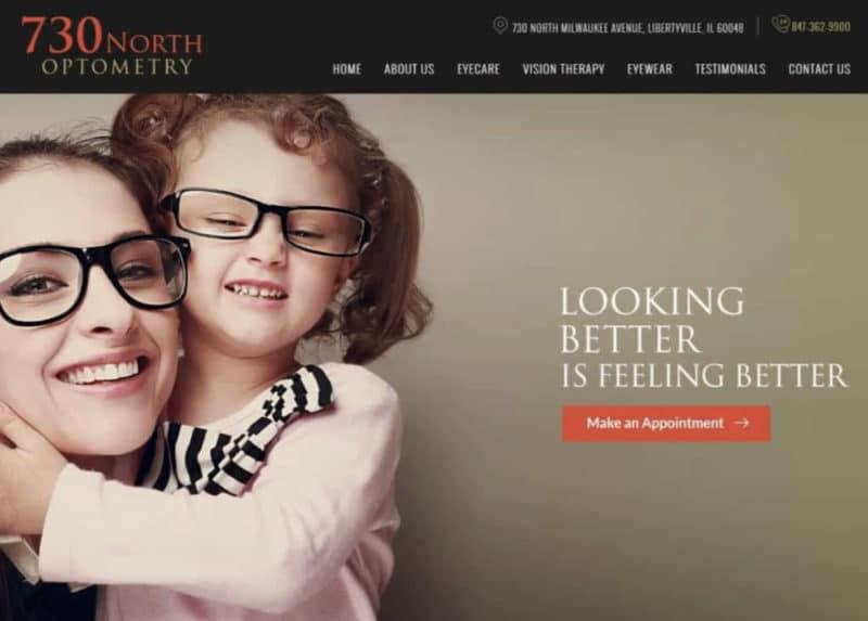 730 North Optometry Website