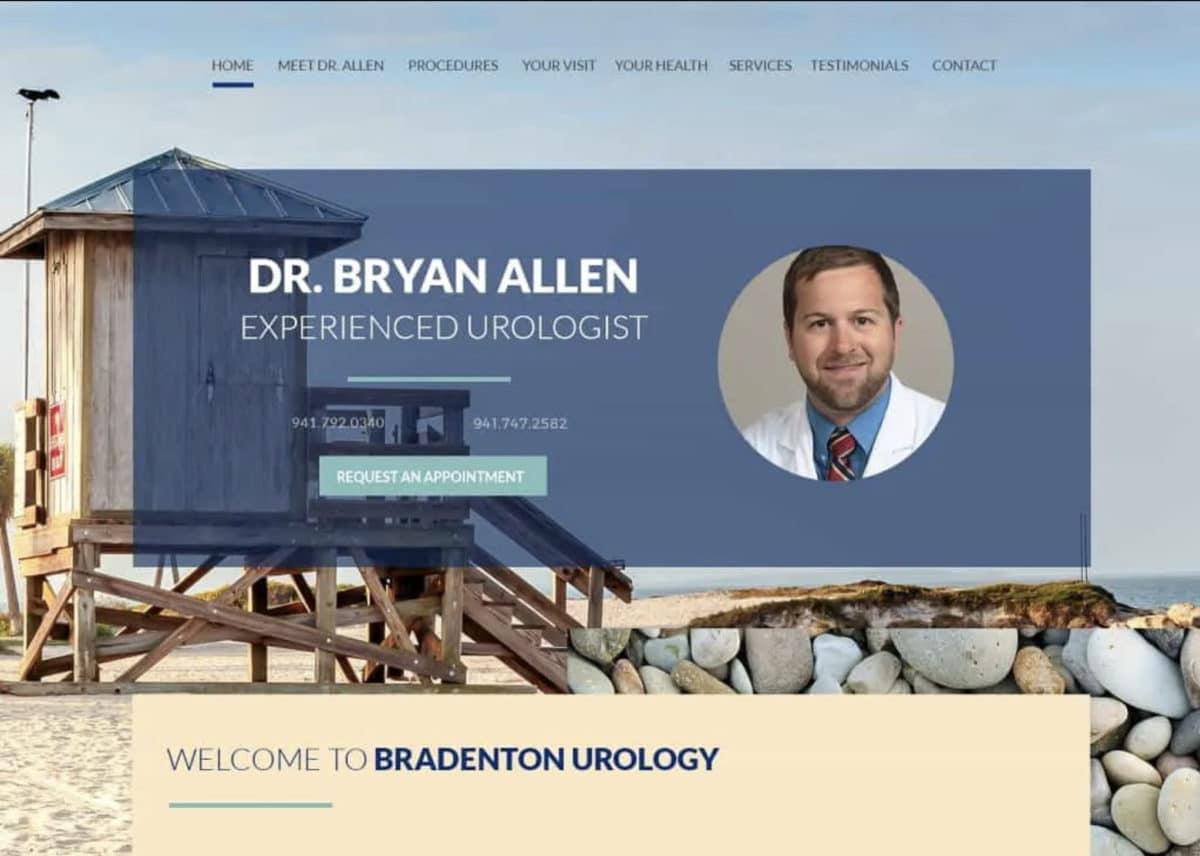 Dr Bryan Allen Dermatologist Website