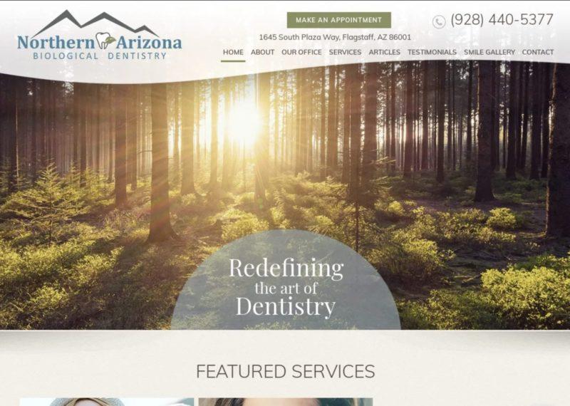 Northern Arizona Biological Dentistry Website
