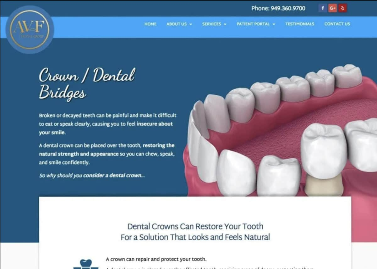 Avf Dental Group Website