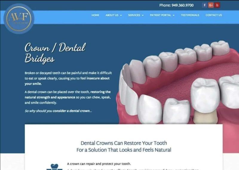 Avf Dental Group Website