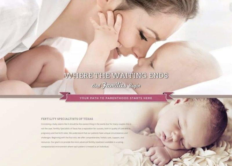 Fertiliy Clinic Website