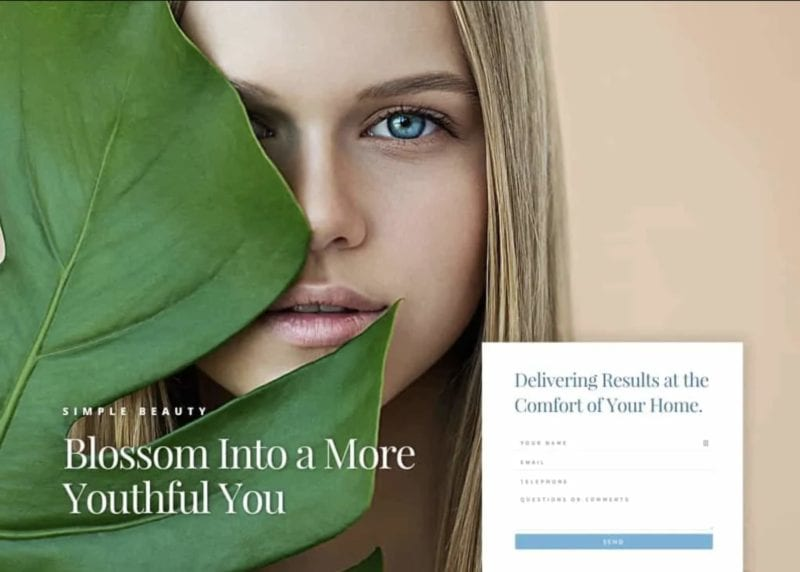 Simple Beauty Website