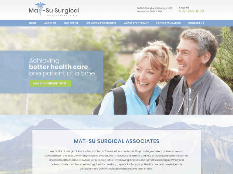Masu Surgical Center Website 1600x1200