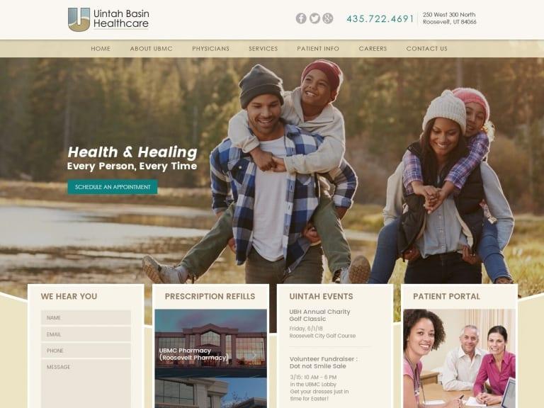 Basin Healthcare Website 1600x1200