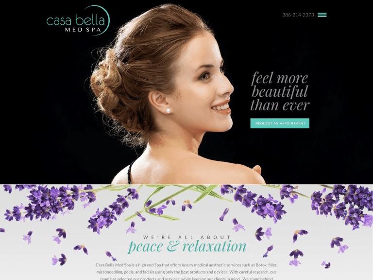 Casa Cosmetic Surgery Website 1600x1200