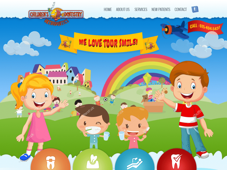 Childrens Dentistry And Orthodontics Website 1600x1200