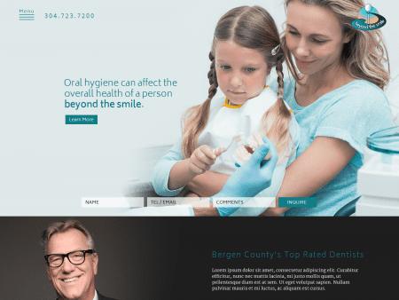 County Top Dentist Website 1600x1200