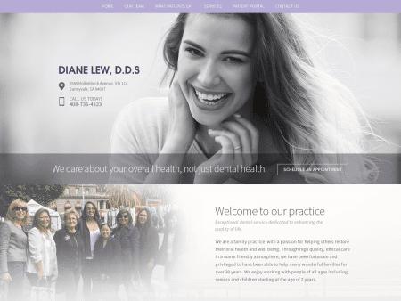 Diane Lew Dds Website 1600x1200