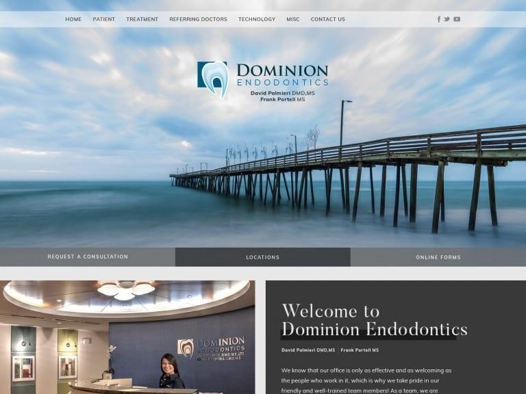Domian Endodontics Website 1600x1200