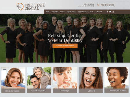 Free State Dental Website 1600x1200