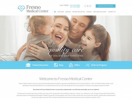 Fresno Medical Center Website 1600x1200