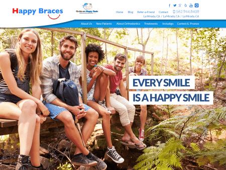 Happy Braces Website 1600x1200
