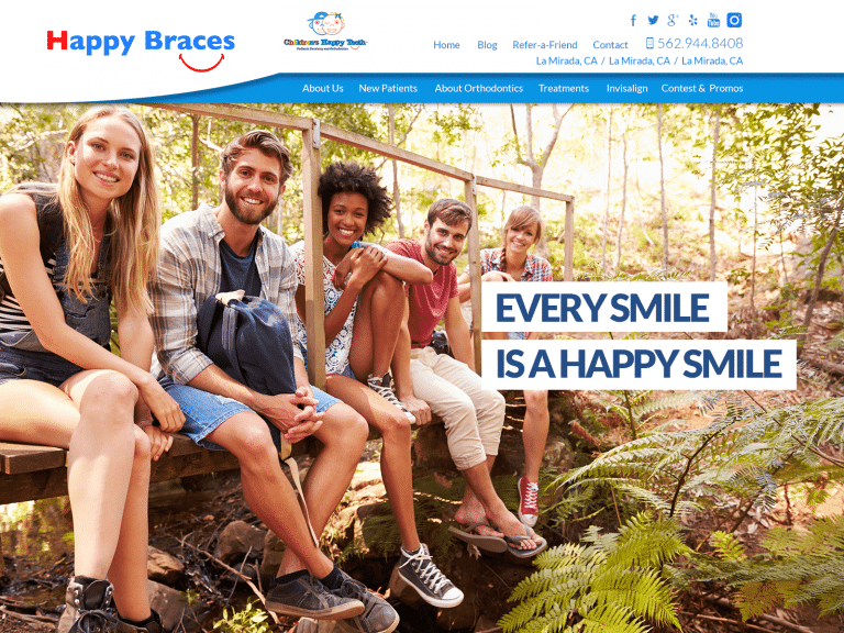 Happy Braces Website 1600x1200