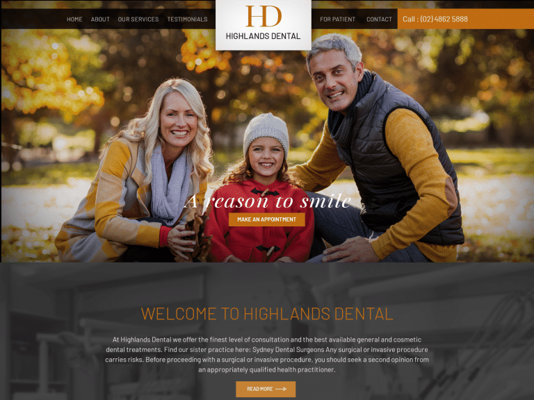 Hd Dental Website 1600x1200