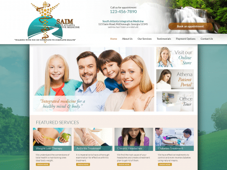 Integrative Medicine Website 1600x1200