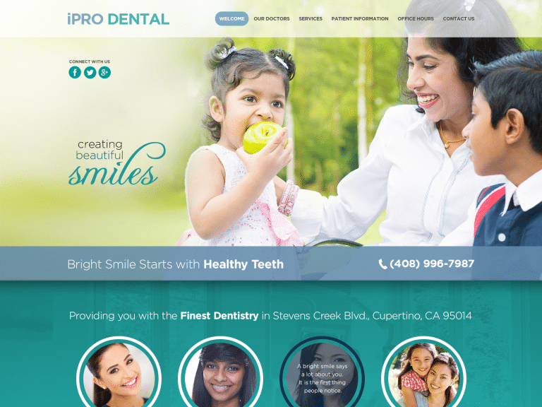 Ipro Dental Website 1600x1200