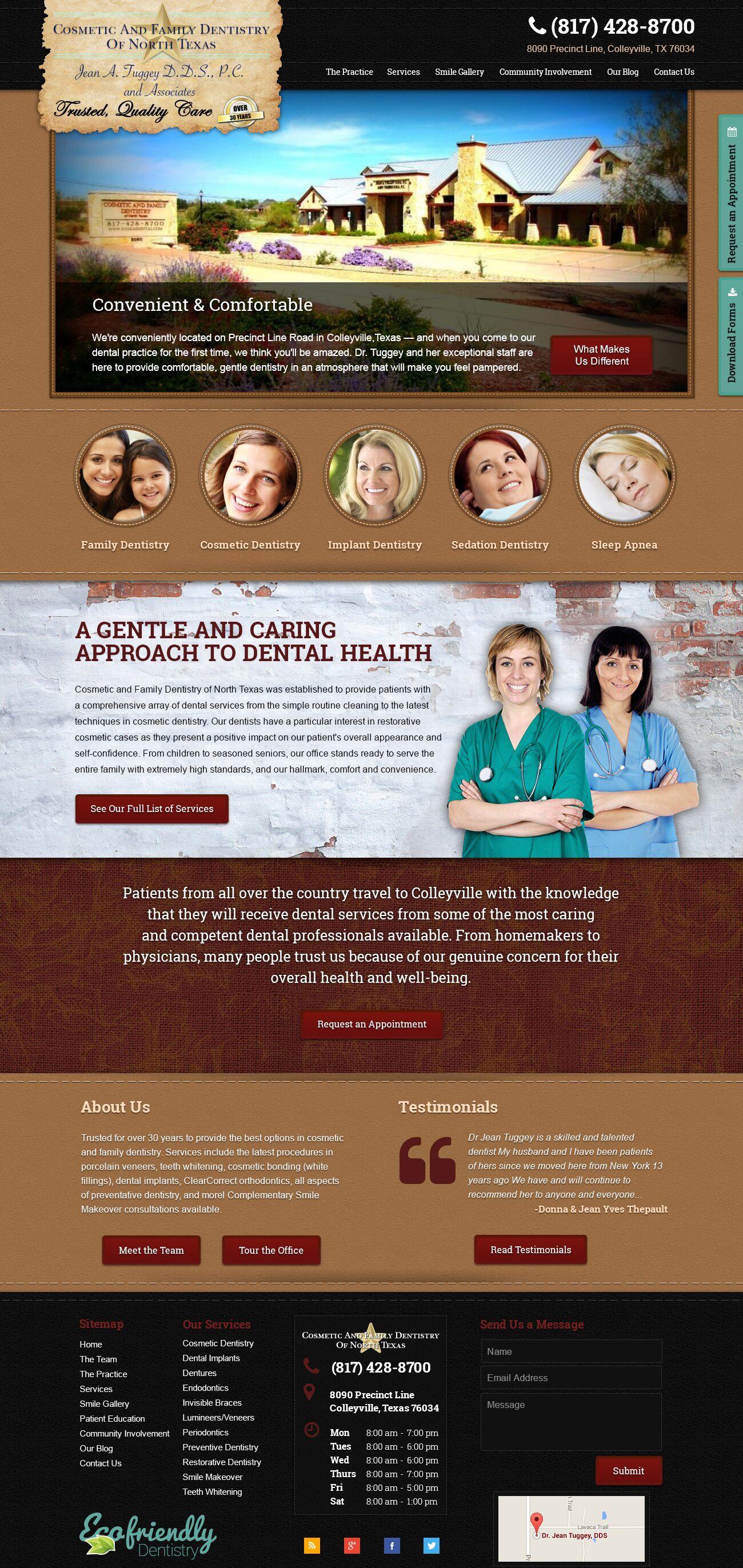 North Texas Cosmetic Dentistry Website