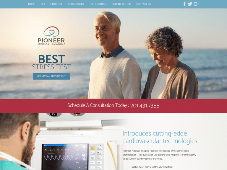 Pioneer Medical Imaging Website 1600x1200