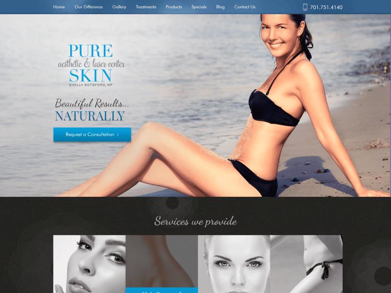 Pure Skin Website 1600x1200