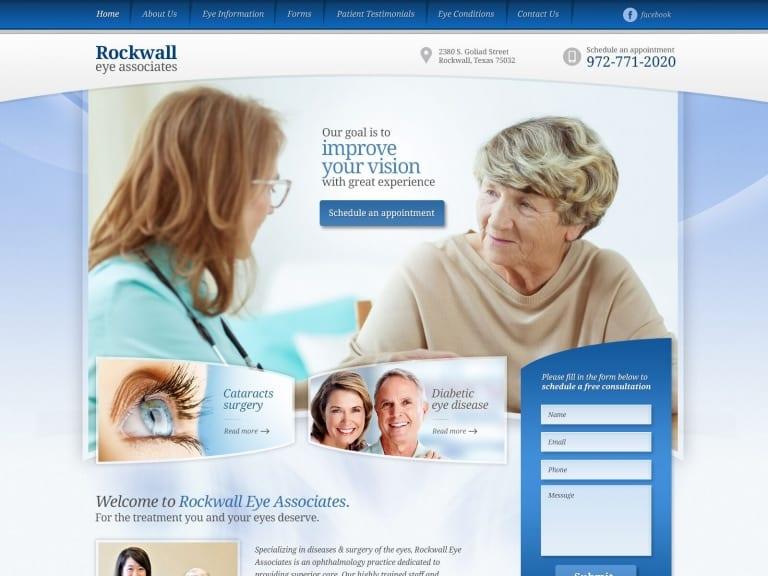 Rockwell Eye Associated Website 1600x1200
