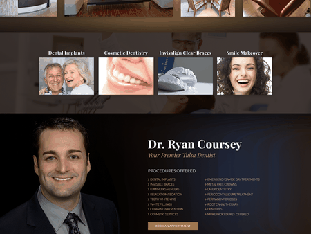 Tulsa Dentistry Website 1600x1200